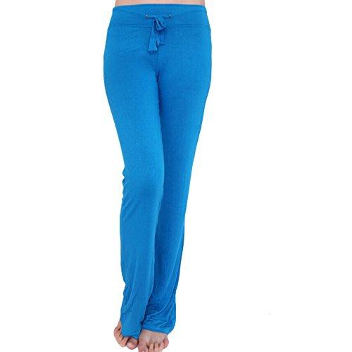 Tkria Sport donna lunghi pantaloni ricreativi Yoga Pants (L XL XXL)