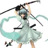 WF2011冬限定 半人半霊の庭師 魂魄妖夢~六道剣 白衣Ver.~ 1/7PVC完成品