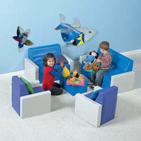 Children's Factory Soft Tone Parlor Seating