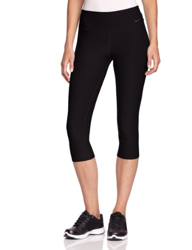 Nike Lady Legend 2.0 TI Capri Running Tight - Medium - Black