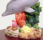 The Ocean Collection of Symphony Gifts - Dolphin with Baby Figurine (Humpty Dumpty, Livingston (SWISS))