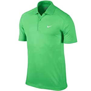 2014 Nike Victory Polo de golf-Lucid Green-X-Large