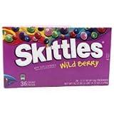 Skittles スキトルズ ワイルド・ベリー フルーツ キャンディー(61g x 36)ハワイからお届け