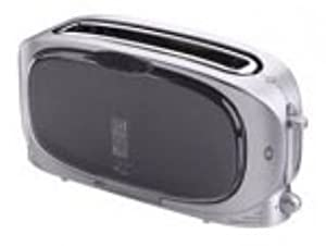 George Foreman 10726 Clear Toaster Amazon Co Uk Kitchen