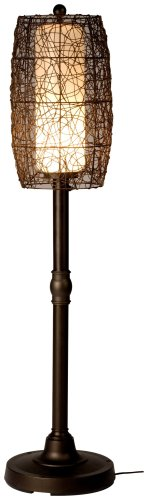 Bristol 68277 Bronze 58-Inch Floor Lamp With Walnut Shade