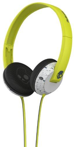 Skullcandy Uprock Stereo Headphones - Hot Lime/Light Gray
