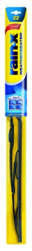 "Rain-X RX30222-5PK Weatherbeater Wiper Blade - 22"", (Pack of 5)"