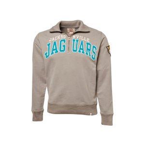 NFL Jacksonville Jaguars Mens Striker 1 4 Zip Jacket by