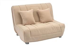 Clio Sofa Bed Compact 120cm 4ft Double Size Plum Soft