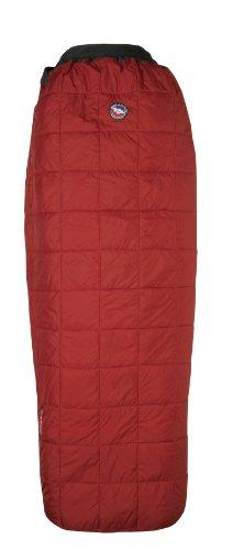 Big Agnes Cross Mountain 45-Degree Sleeping Bags (Intergrity), Reg Right Zipper