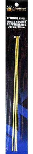 黄铜线: 1.0 m m (长度 200 毫米) 5 件 (LT0068)。