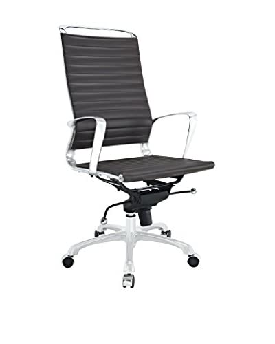 Modway Tempo Highback Office Chair, Brown