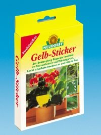 Neudorff 33433 adesivi 10 pezzi colore giallo vari for Amazon gelbsticker