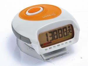 Image of New Oregon Scientific Pedometer With Calorie Counter Higlo Electroluminescent Backlight (B0042EGEBE)