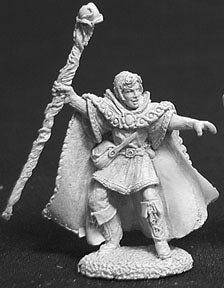 Drake Whiteraven, Elf Wizard - 1