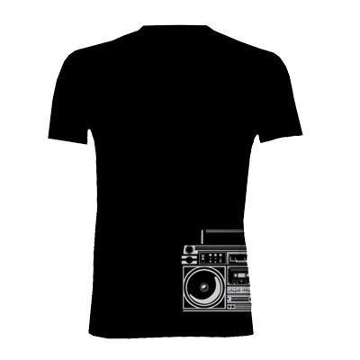 Primal Wear Men's Boom Box T-Shirt - STEKT10M