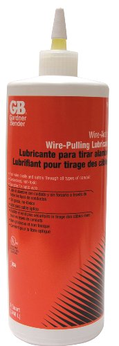 Gardner Bender 79-006N 1 Quart Squeeze Bottle Wire-Aide Wire Pulling Lubricant