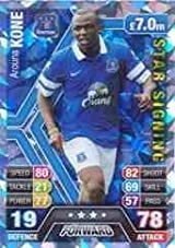 Match Attax 2013/2014 Arouna Kone Everton Star Signing 13/14