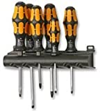 Advanced WERA - 018282 - SCREWDRIVER SET, CHISEL, SL/PH, 6PC (Cleva Pro.SPEC Edition) - 1 Set