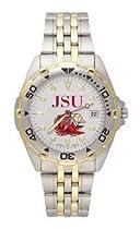 Jacksonville State Gamecocks Mens All Star Sterling Silver Bracelet Watch