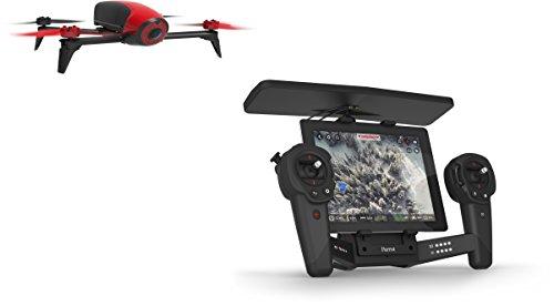 Parrot Bebop 2 Drone con SkyController, Rosso