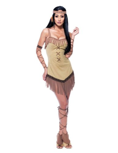 Native Maiden Womens Md Adult Womens Costume