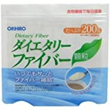 【オリヒロ】ダイエタリーファイバー顆粒 200g