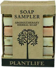 Aromatherapy Herbal Soap Sampler (Mad…