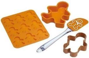 Let's Make Kitchen Craft Lebkuchen-Backset, 4-teilig
