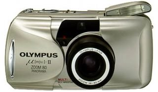 Olympus MJU II ZOOM 80  135 mm Camera :  digital optical olympus cheap