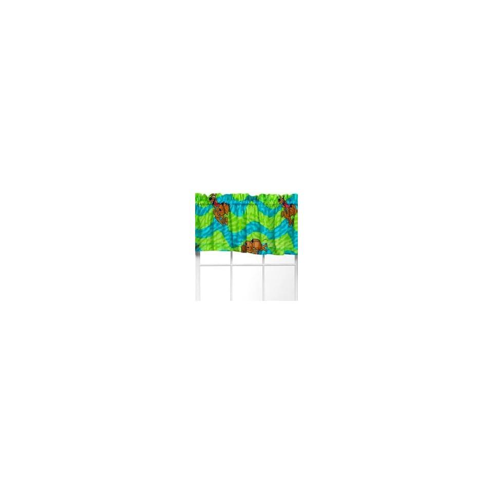 SCOOBY DOO Thumbprints   Window Valance
