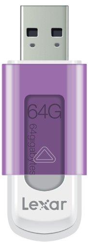 Lexar 64GB JumpDrive S50 USB Flash Drive Memory Stick