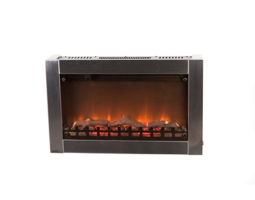 Fire Sense Stainless Steel Wall Mounted Electric Fireplace Outdoor Fireplace photo B0048AWBMS.jpg