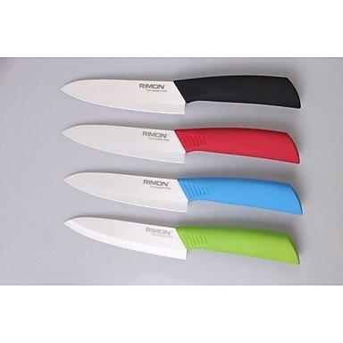 Zaki- 6 Inch Chic Utility Knife Ceramic Knife , Red