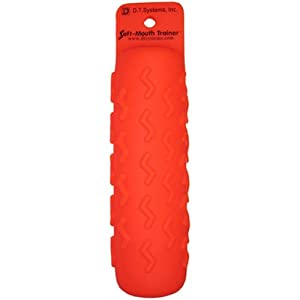 D.T. Systems Soft Mouth Large 3-Inch by 12-Inch Dog Training Dummy Kit, Blaze Orange... by D.T. Systems