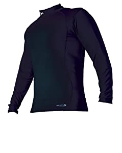Precision Base Layer Long Sleeve Turtle Neck Shirt - Black, 24-26 Inch