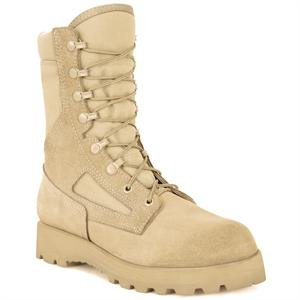 """Rocky Men's 8"""" Military Boots,Brown,9 M"""