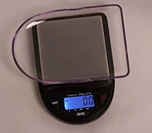 EZ 500g x 0.1g Digital Scale Jewelry Gold Silver Coin Portable Food Scale Pocket Size by EZ Scale