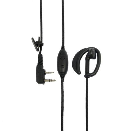 Nylon Coated Cable Earphone Microphone For Kenwood Tk Two Way Radio