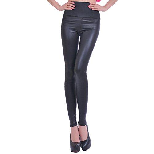 lvrao-femme-slim-pantalon-taille-haute-noir-faux-cuir-stretch-legging-brillant-tregging-simili-cuir-