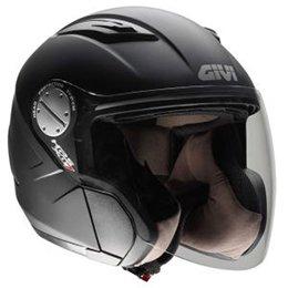 Casque jet-hPS x07C comfort, couleur :  noir mat-revêtement soft touch-taille xXS