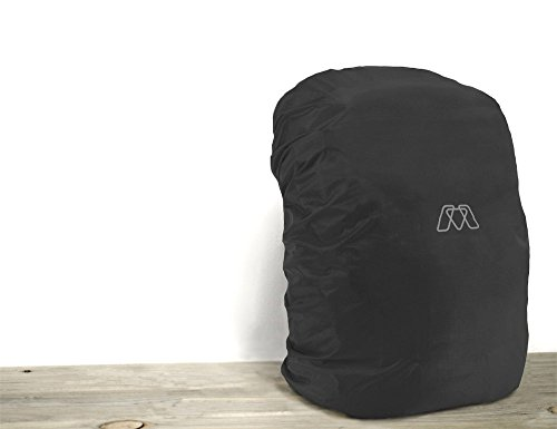 MOS Pack Rain Cover (Black), For MOS Pack and Similarly Sized laptop backpacks (Rain Flies For Backpacks compare prices)