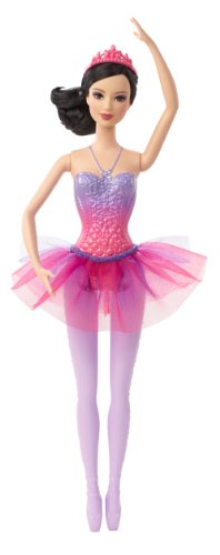 Barbie Fairytale Magic Ballerina Lea Doll - 1