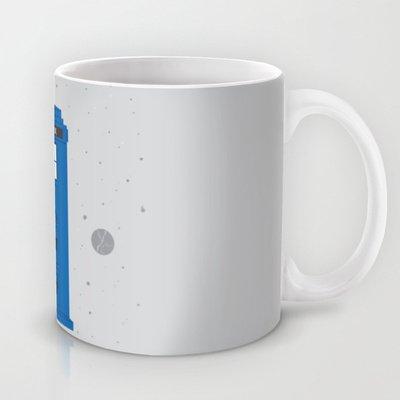 Society6 - The Tardis Got Some Ink Coffee Mug By Ashley Hay