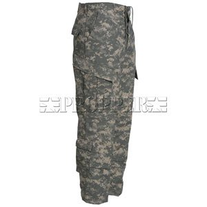 Universal Camo Nylon / Cotton Ripstop ACU Pants