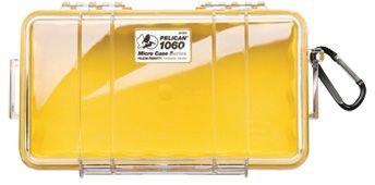 PELICAN 1060-027-100 Yellow Micro Multi Purpose Case