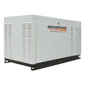 Generac Qt02224Gnax 22 Kw Liquid-Cooled Automatic Standby Generator, 1,800 Rpm, 120/208V, 3-Phase
