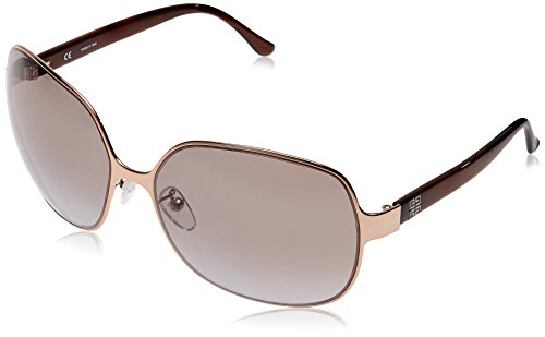 Givenchy Givenchy Oval Sunglasses (Golden Brown) (SGV-355 COL-0A40) (Multicolor)