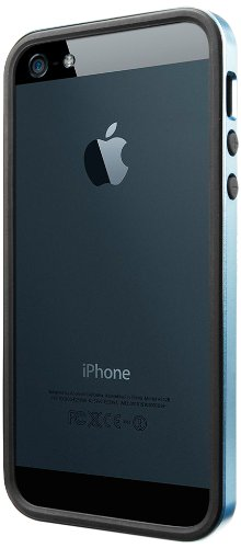 国内正規品SPIGEN SGP iPhone5/5S ケース ネオ・ハイブリッド EX スリム メタルシリーズ [メタル・ブルー] SGP10036
