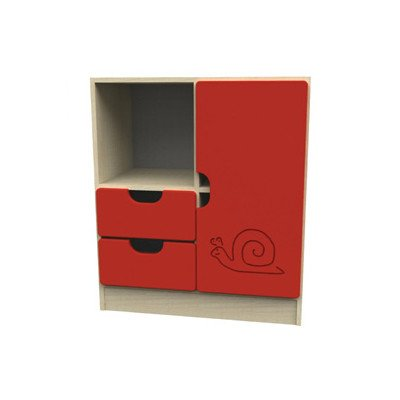Sideboard Novo Farbe: Rot